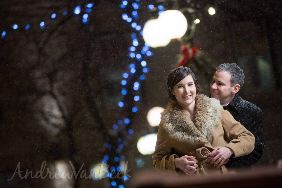 A Courtyard Winter Wedding (12)