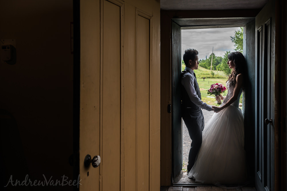 Laura & Chris and their Brookstreet Hotel Wedding