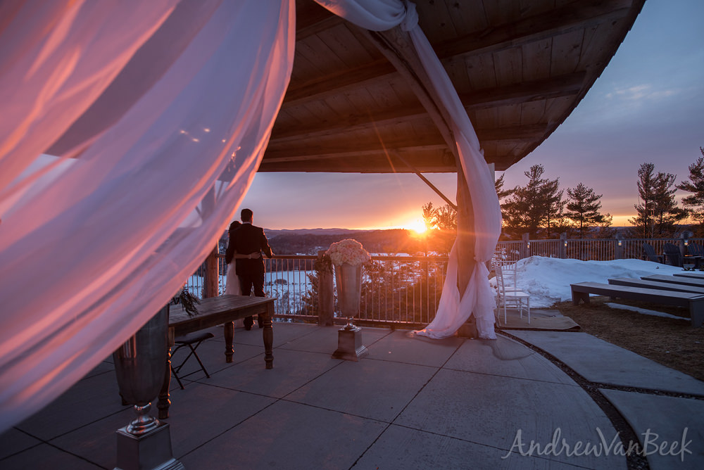 A Belvedere Wedding on April Fools Day