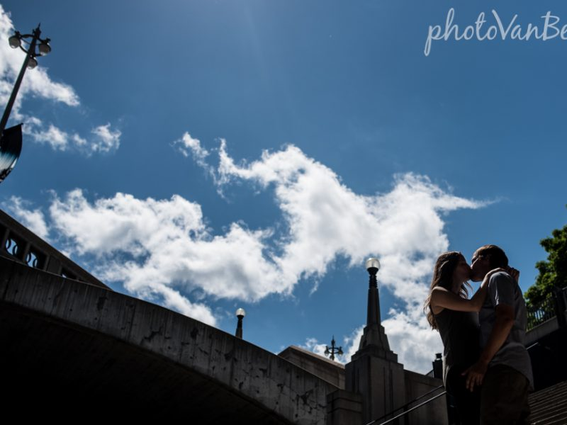 Holly & Jordan's ByWard Market Engagement by Jessica
