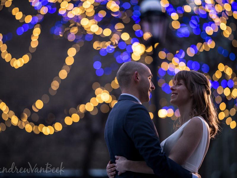 Michelle & Cory's Courtyard Wedding