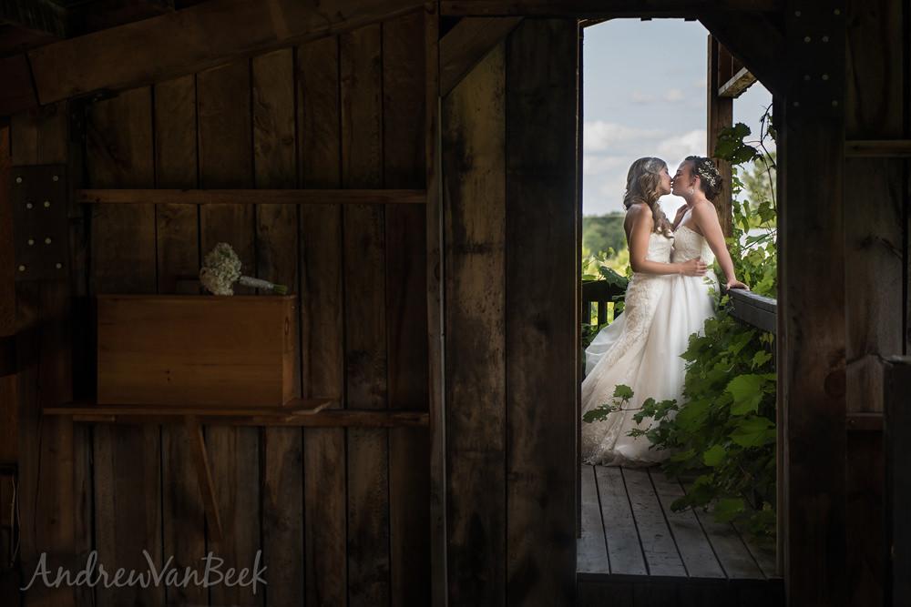 Featured Wedding – Allie & Sara