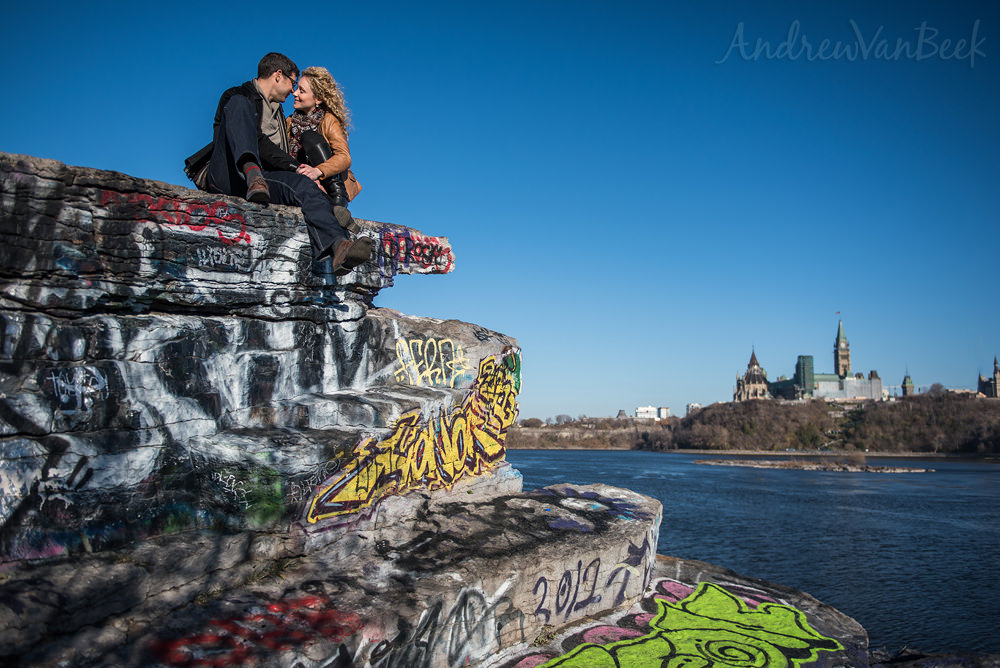 A Parliament Engagement Shoot for Tausha & Justin