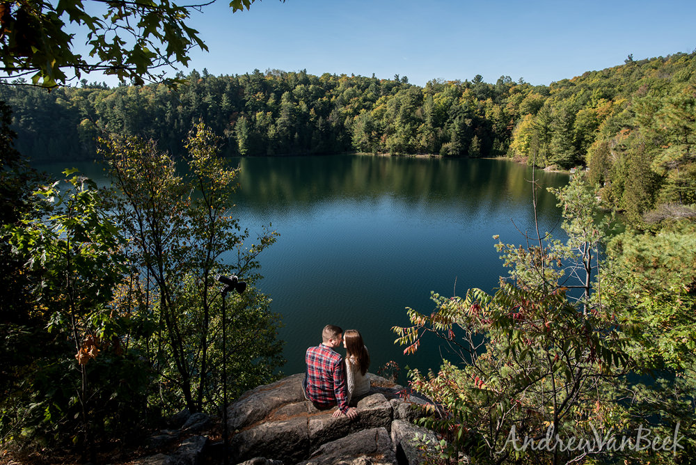 An Engagement Shoot in the Gatineau Park